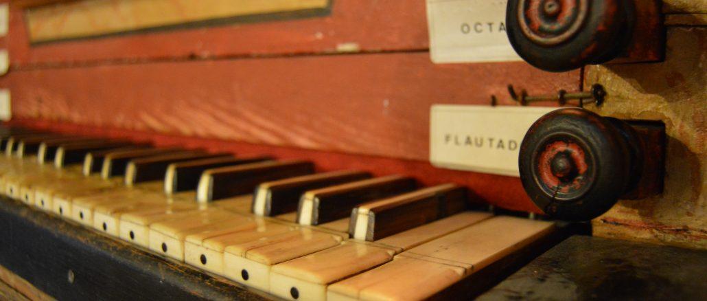 El teclado consta de 45 teclas en un solo cuerpo. En la imagen, detalle del mismo. / JG