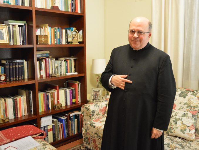 El nuevo deán tomó posesión de este oficio el pasado miércoles en la Catedral. / JG