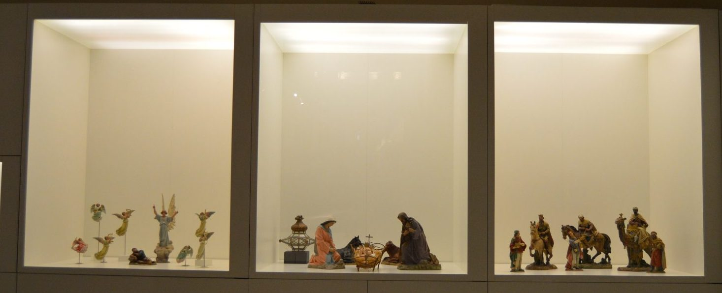 En la imagen, tres de las escenas que se pueden disfrutar en la exposición. / JG